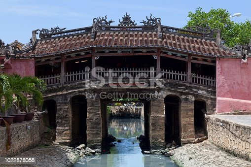 The bridge (Lai Vien Kieu) is a unique covered structure built by the Japanese, the only known covered bridge with a Buddhist temple attached to one side.