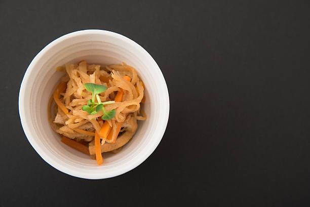 "Japanese cuisine, dried strips of daikon radish, ""Kiriboshidaikon"" ストックフォト"