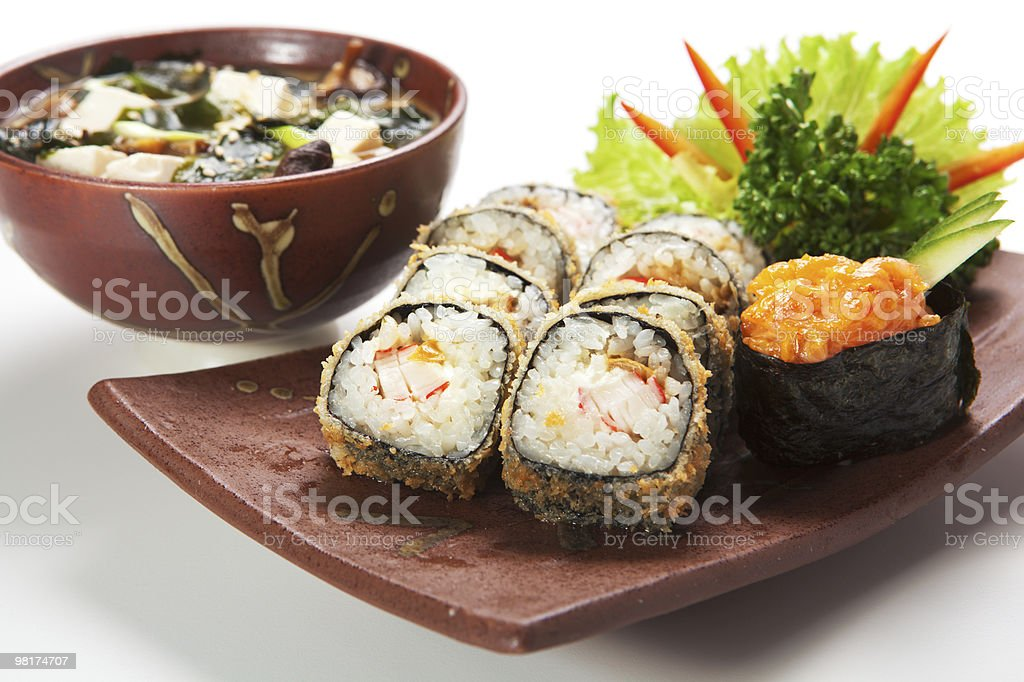 일본 요리 royalty-free 스톡 사진