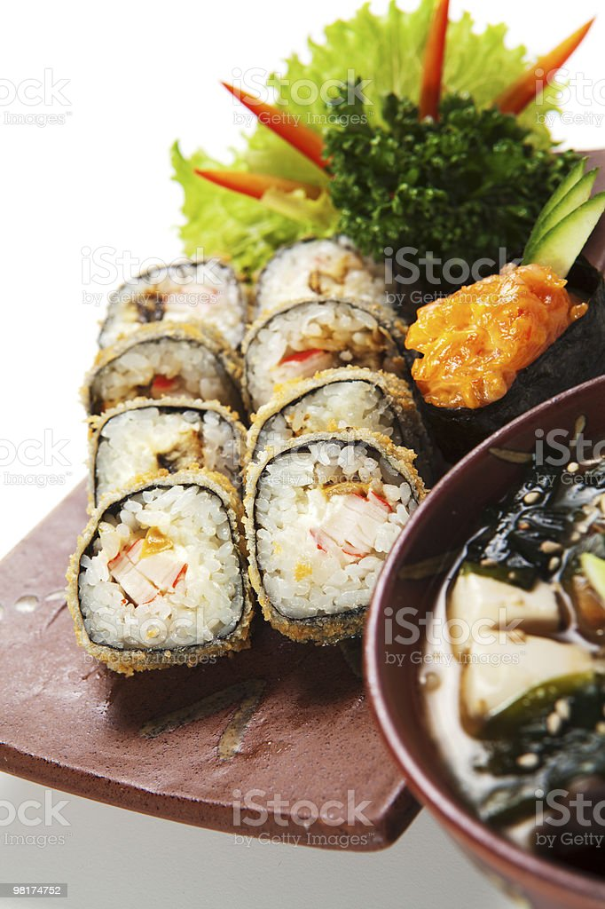Japanese Cuisine royalty-free stock photo