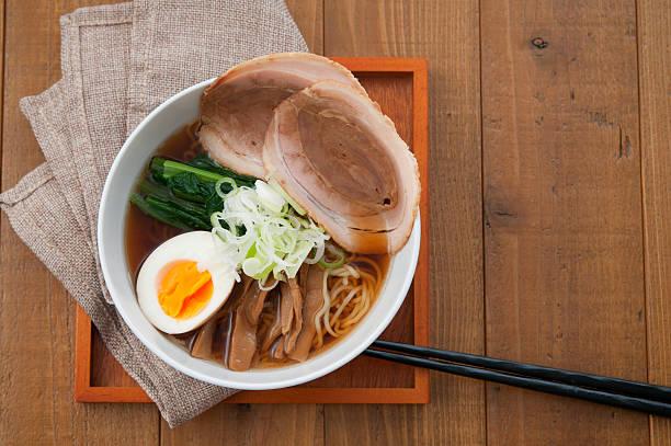 日本の料理、ラーメン - ラーメン ストックフォトと画像