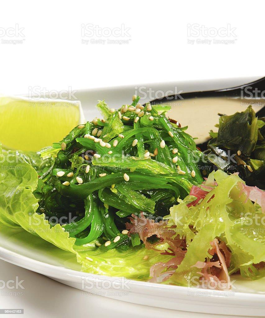 Japanese Cuisine - Seaweed Salad royalty-free stock photo