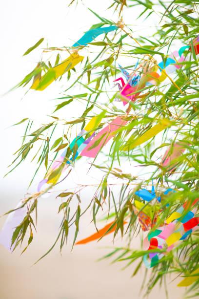 日本文化七夕のお祝い - 七夕の写真 ストックフォトと画像