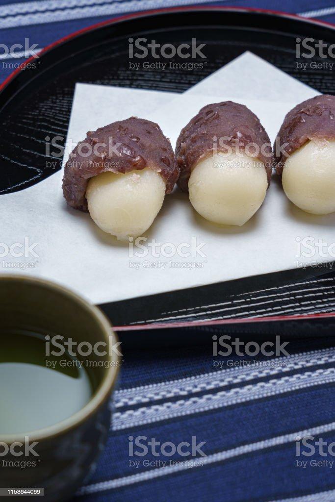 Japanese Dango dessert, viewing the moon, Japanese culture