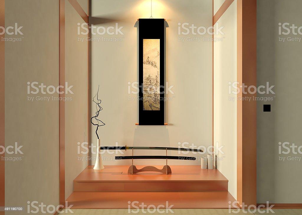 Japanese decoration stock photo