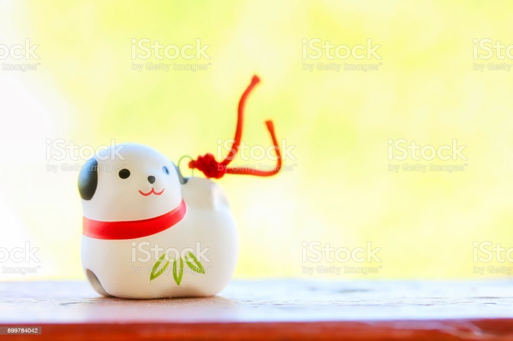 Japanese Dog Ornament stock photo