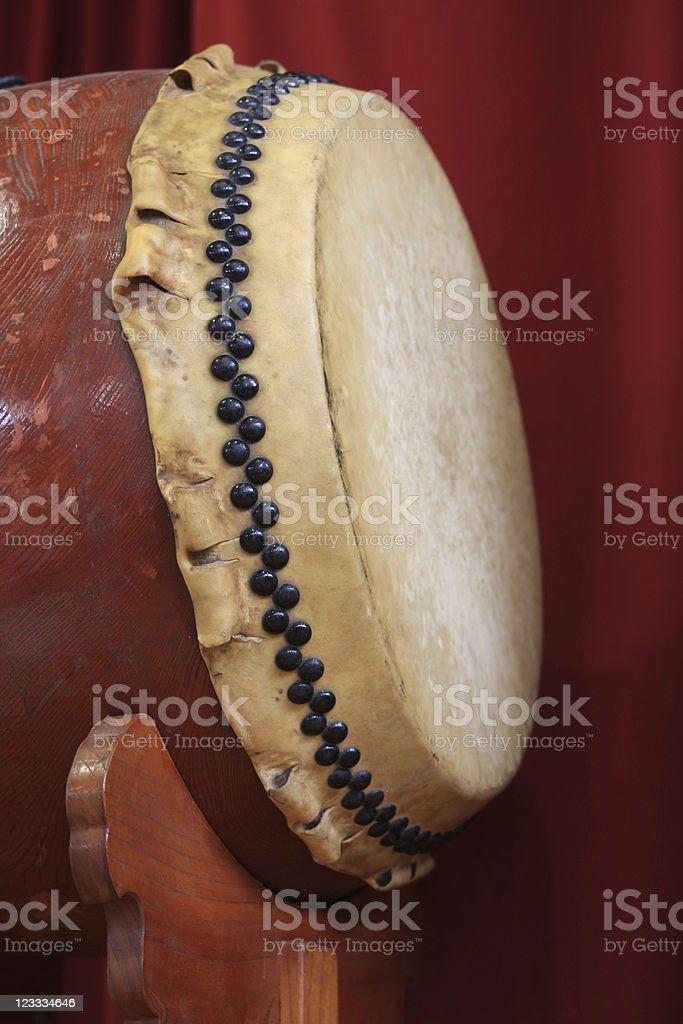 Japanese Drum 'TAIKO' royalty-free stock photo