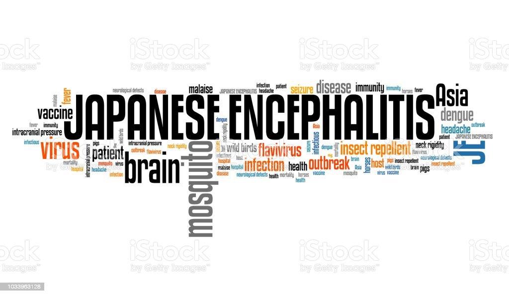 Japanese encephalitis stock photo