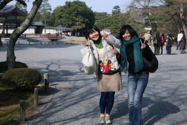 日本の家族 ストックフォト