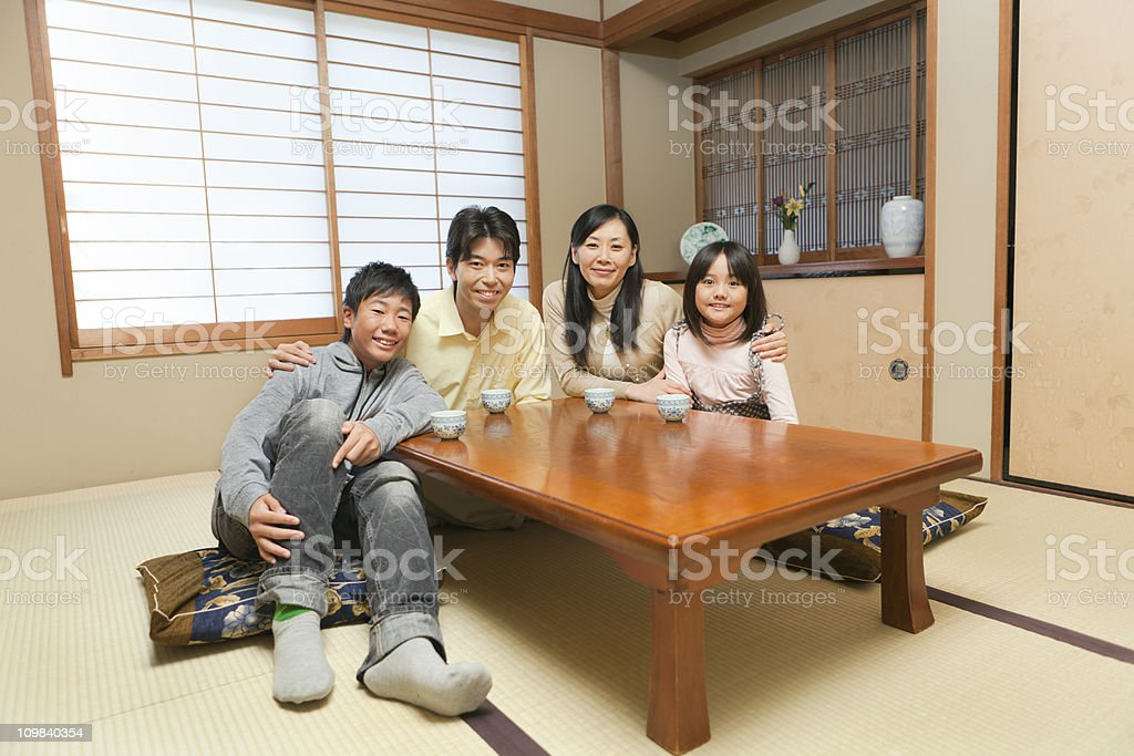 Traditional Japanese Family