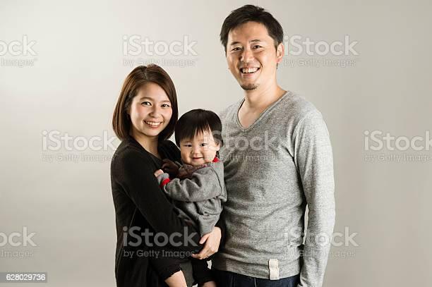 Japanese Family In Studio Shot - 20代のストックフォトや画像を多数ご用意
