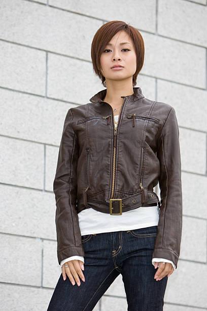 Japanese fashion model stock photo