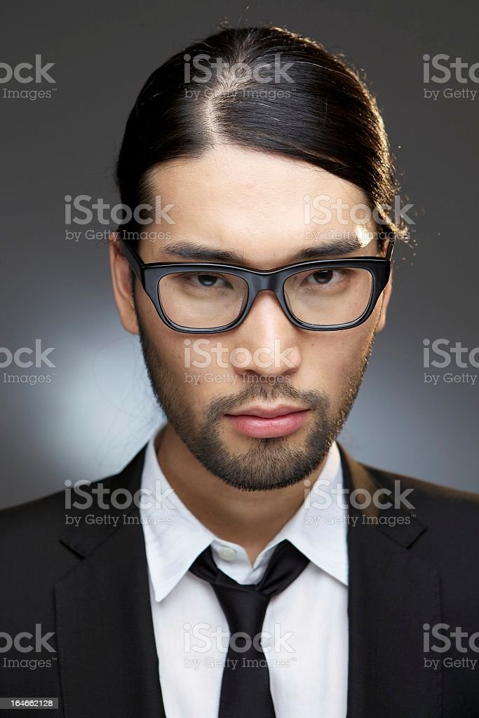 Japanese Fashion Portrait royalty-free stock photo
