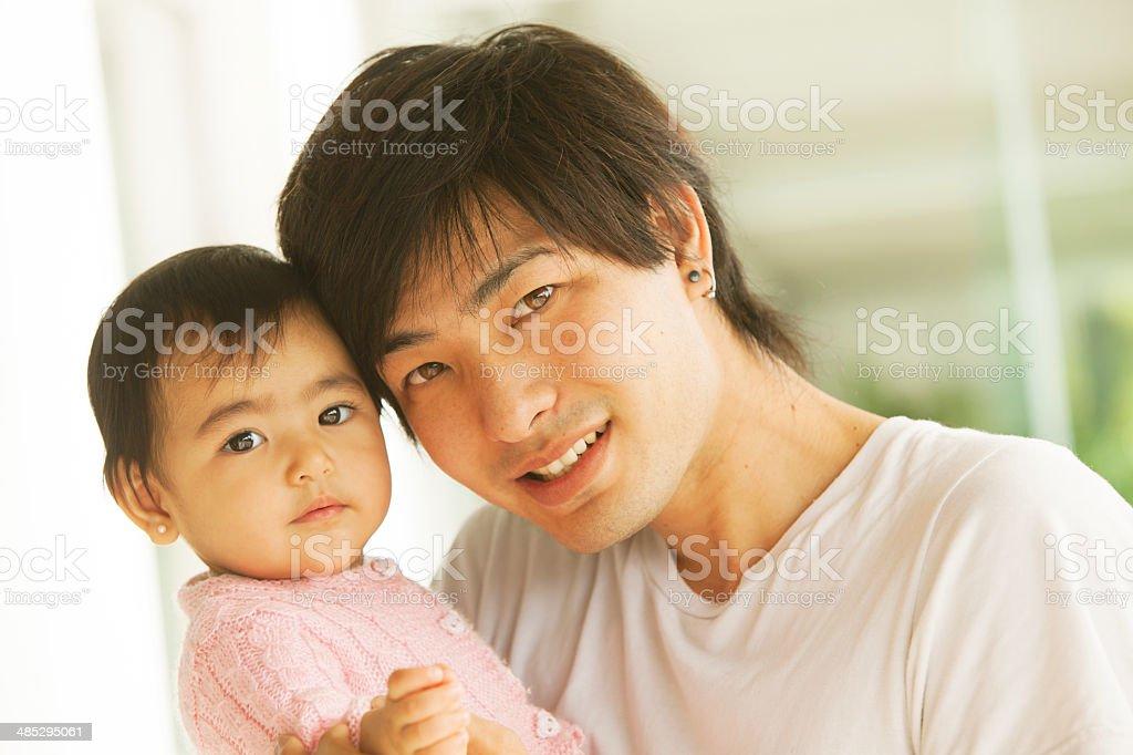 Папа и доч японский
