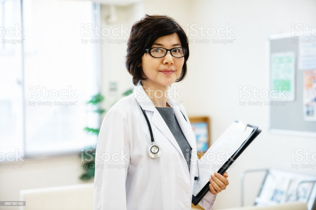 Japanese Female Doctor圖像檔