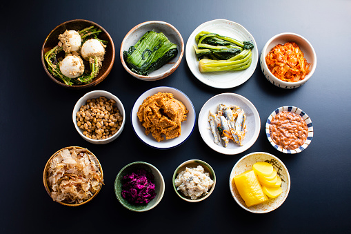 A health food unique to Japan made by the action of microorganisms. Make intestinal bacteria.