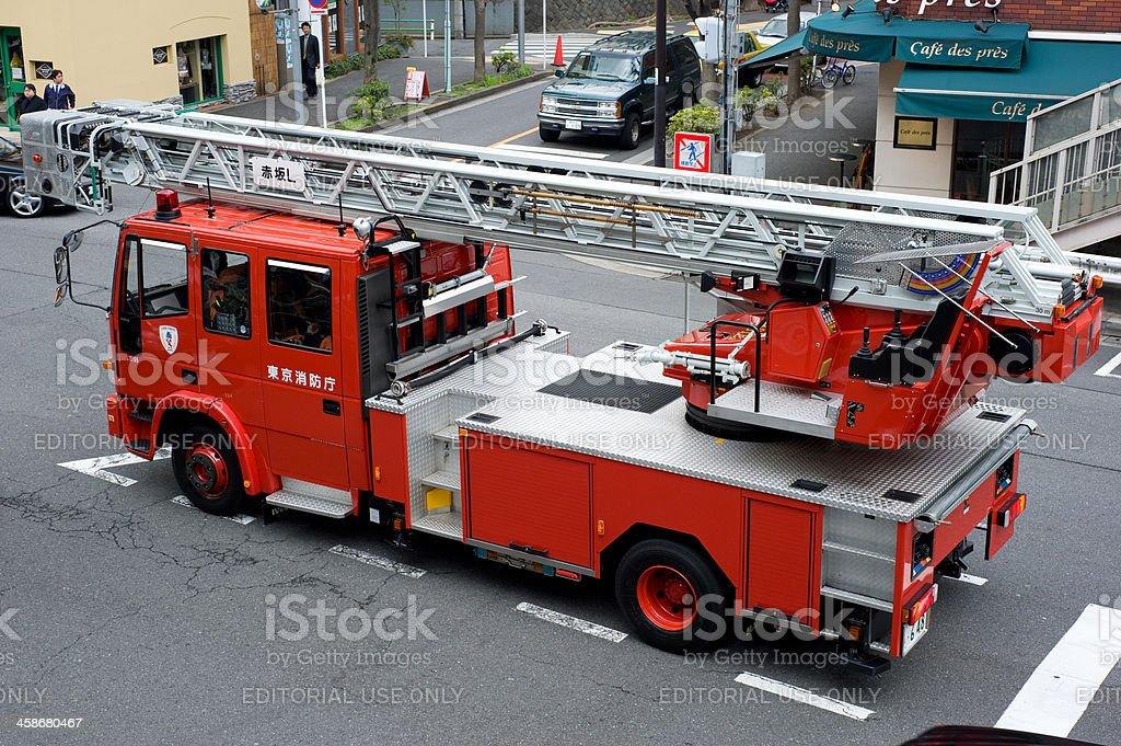 Japanese Fire Truck stock photo