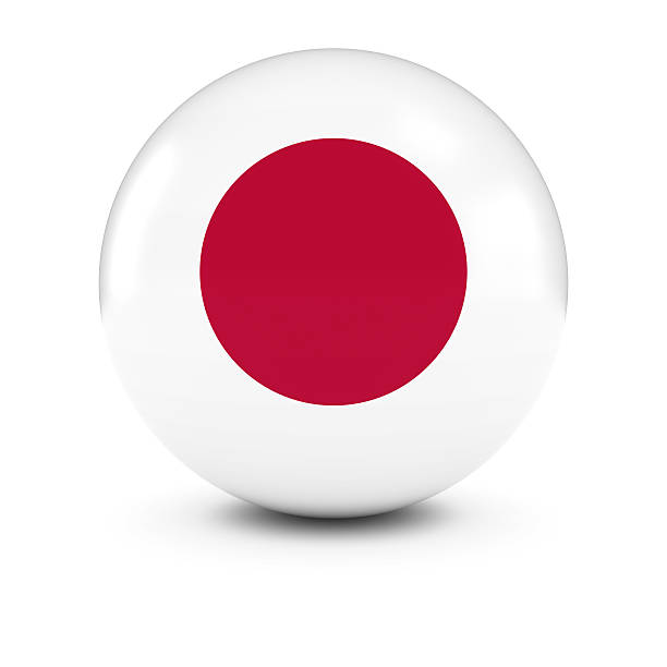 Royalty Free Japanese Flag Pictures Images And Stock Photos IStock - Japanese flag
