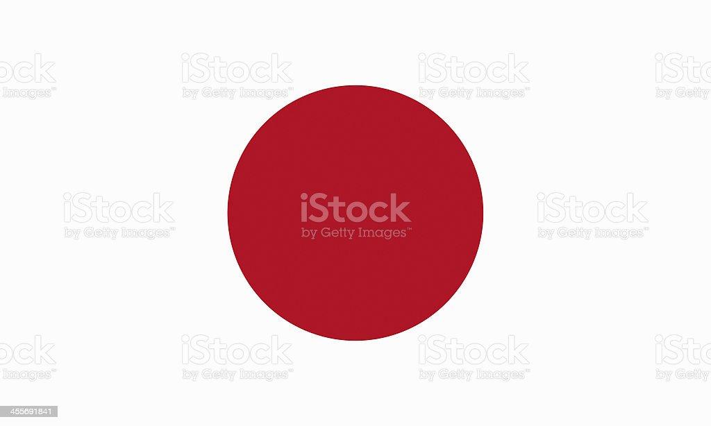 Bandeira Japonesa - foto de acervo