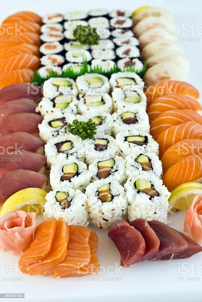 Japanese Food,  Family Menu royalty-free stock photo