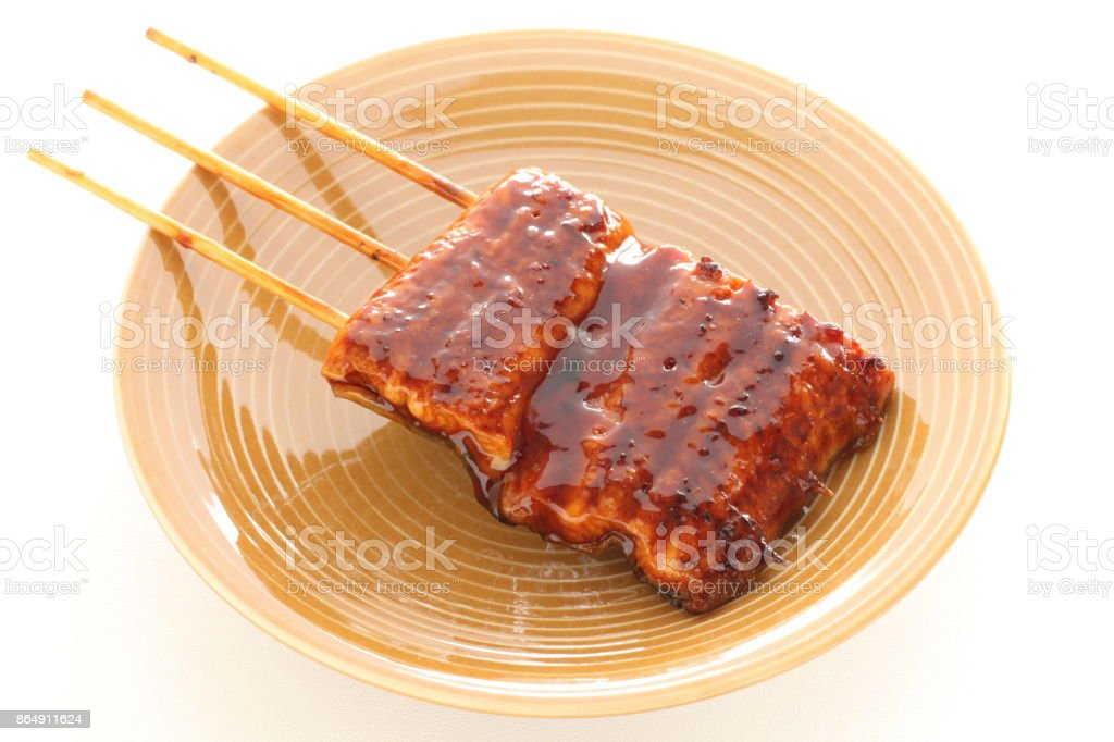 Japanisches Essen, Kabayaki Grill Aal – Foto