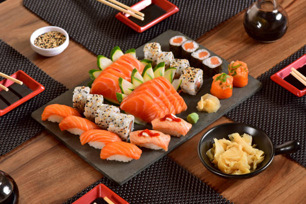 japanese food - japanese food stock photos and pictures