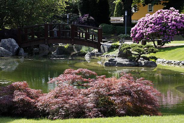 Japanischer Garten im Bad Langensalza – Foto