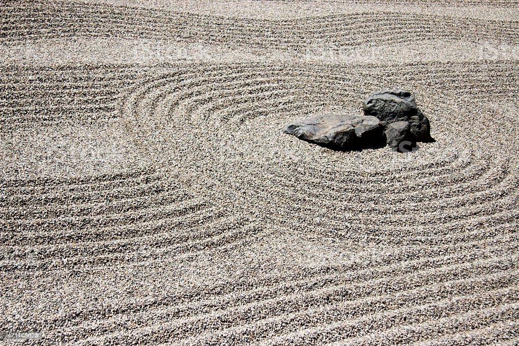 Japanese (Zen) garden royalty-free stock photo