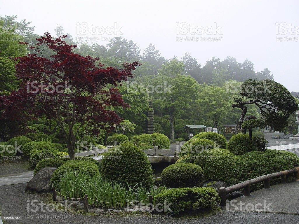 Japanese Garden - Royalty-free Asia Stock Photo