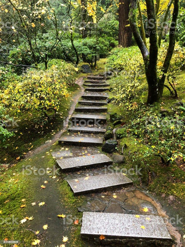 Japanese Garden Portland Oregon Stock Photo Download Image Now Istock