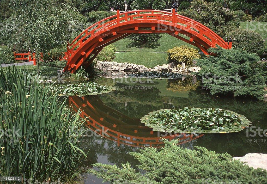 Japanese gardens Huntington Library and Botanical Gardens San Marino California stock photo