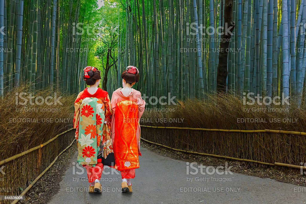 Giapponese Geisha - foto stock