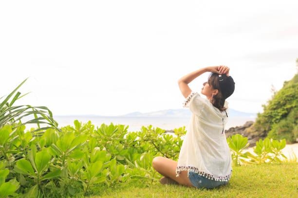 Chica japonesa. - foto de stock