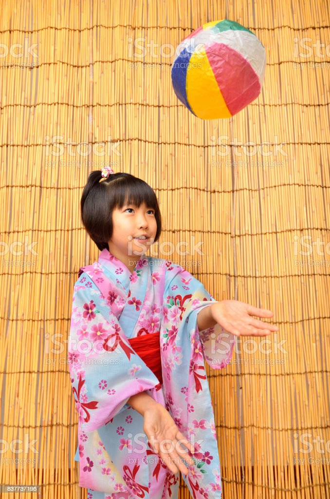 Japanese girl stock photo