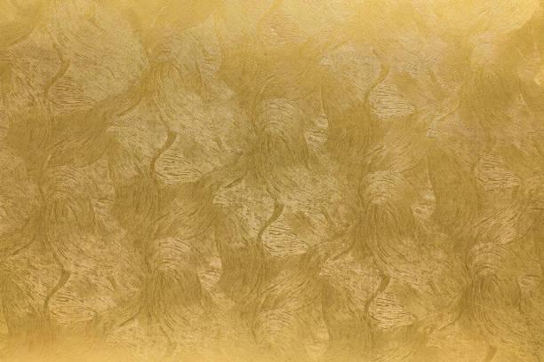 japanische goldpapier textur hintergrund - japanpapier stock-fotos und bilder