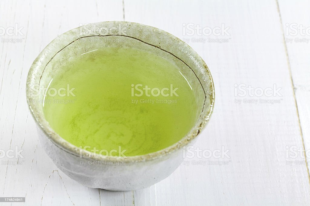 Japanese Green Tea  Gyokuro royalty-free stock photo