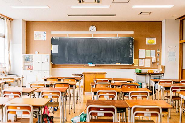 日本の高校のスクール形式 - 中学校 ストックフォトと画像