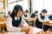 日本の高校生検査の実行
