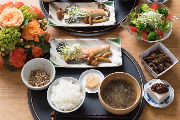 日本の家庭料理。 - 家庭料理 ストックフォトと画像