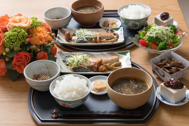 日本の家庭料理。 - 和食 ストックフォトと画像