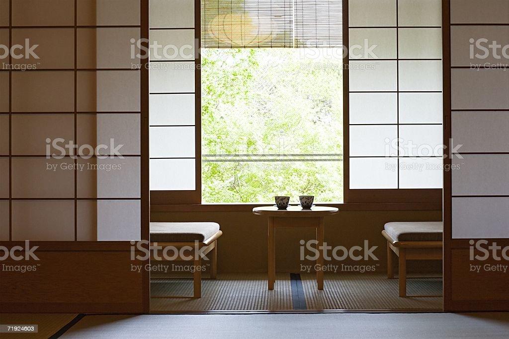 Japanese inn stock photo