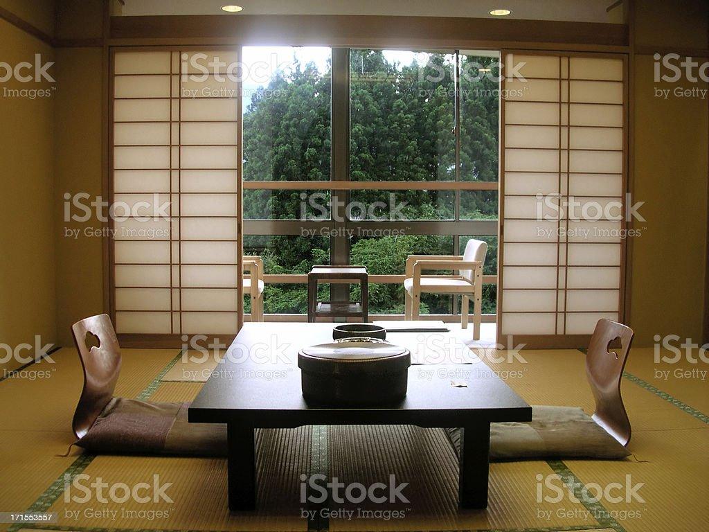 Japanese Interior 01 royalty-free stock photo
