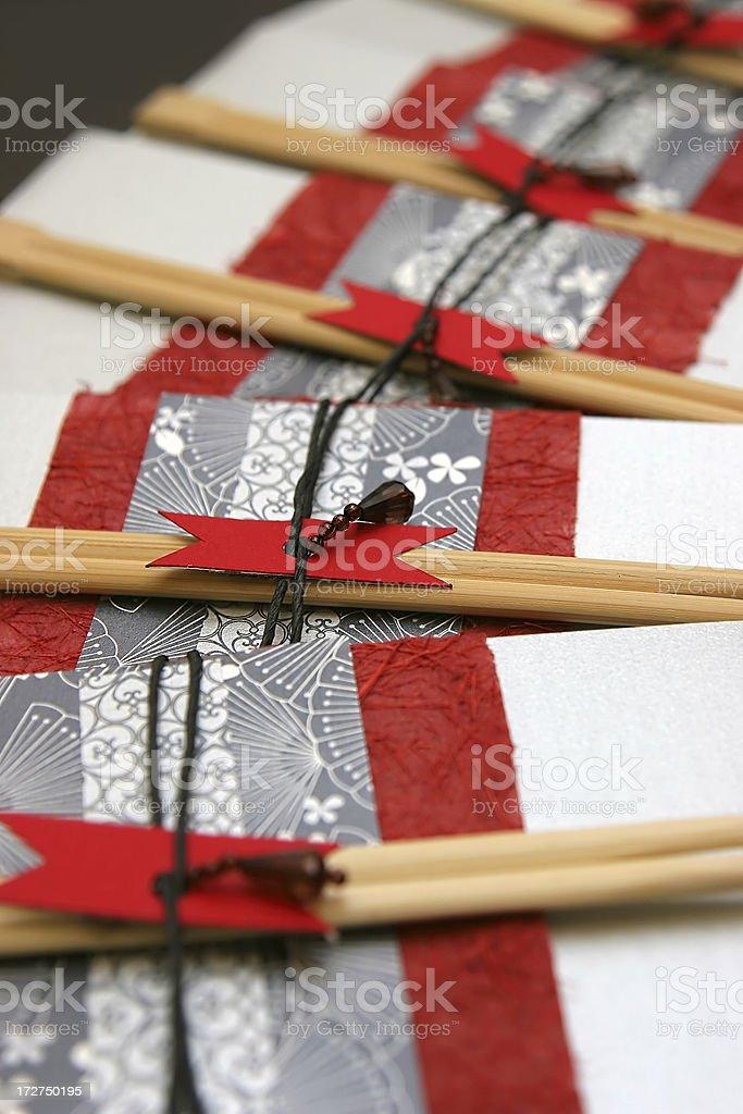 Japanese Invitation royalty-free stock photo