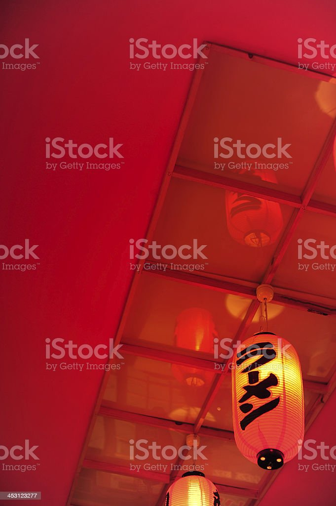 Japanese Lantern royalty-free stock photo