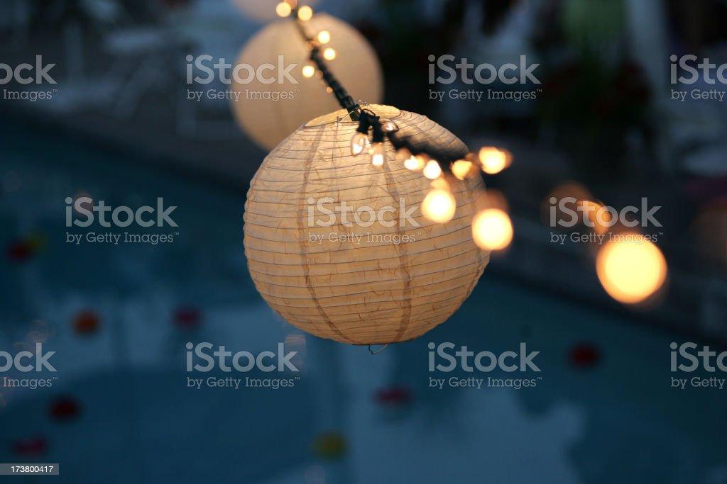 Japanese Lantern-02 royalty-free stock photo