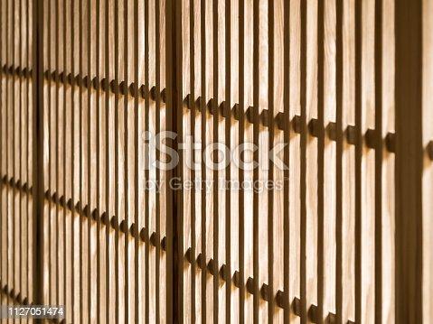 Japanese latticed doors