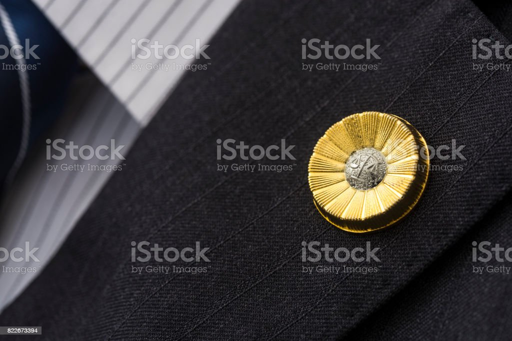 Japanese lawyer emblem - foto stock
