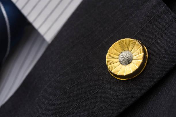 日本の弁護士徽章 - 弁護士 ストックフォトと画像