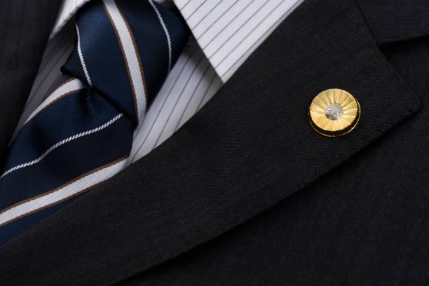 日本の弁護士徽章 ストックフォト