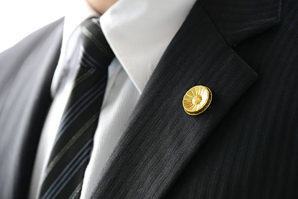 japanese lawyers' badge - badge stock pictures, royalty-free photos & images